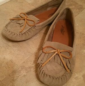 Lucky Brand Lether Moccasins